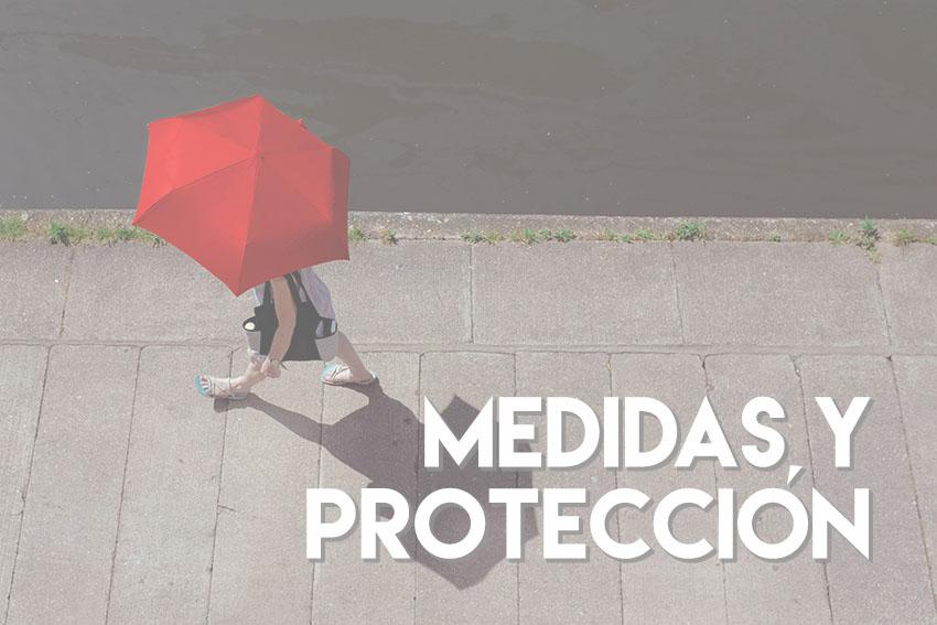 medidas y protección
