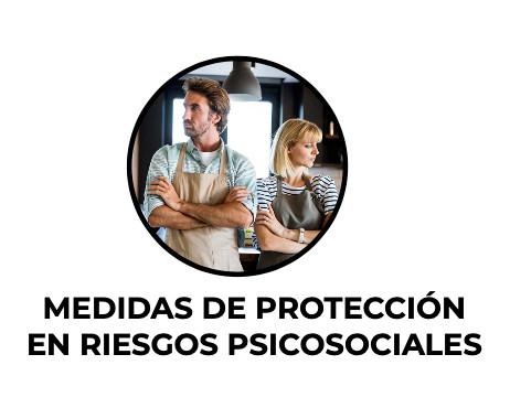 Medidas de protección en riesgos psicosociales