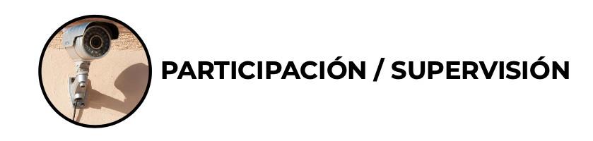 Participación/supervision