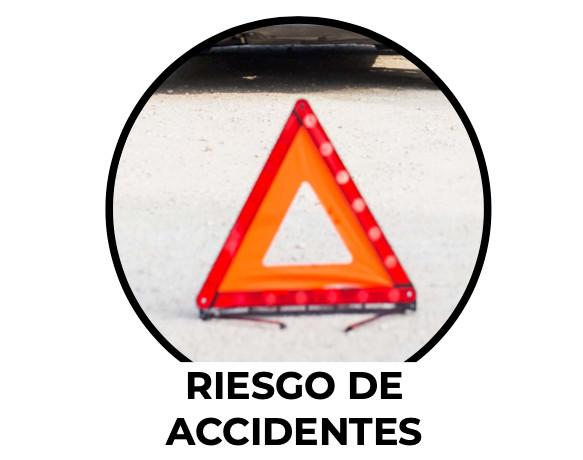 SRiesgo de accidentes